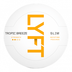 LYFT Tropic Breeze Slim All White Portion