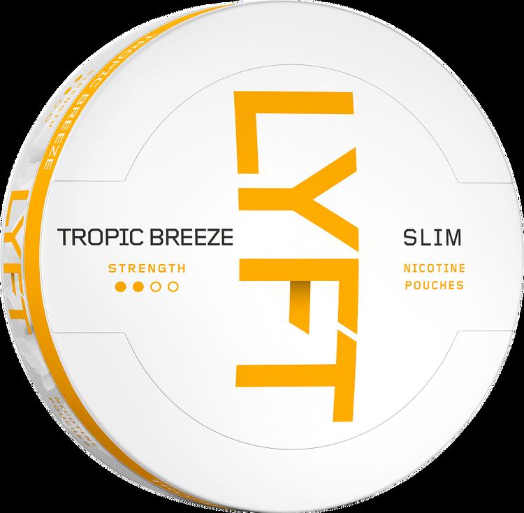 LYFT Tropic Breeze Slim All White Portion