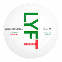 LYFT Winterchill Slim All White Portion