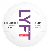 LYFT Liquorice Strong Slim All White Portion