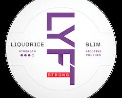 LYFT Liquorice Strong Slim All White Portion