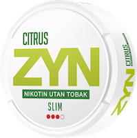 ZYN Slim Citrus Strong
