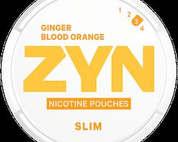 ZYN Slim Ginger Blood Orange Strong