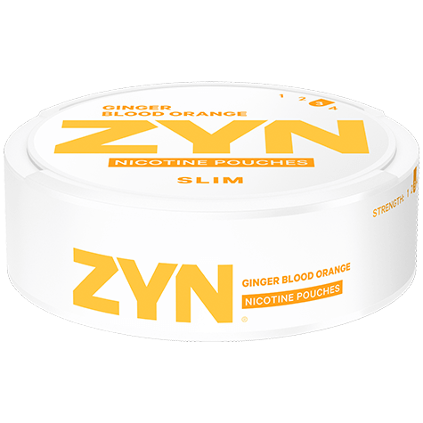 ZYN Slim Ginger Blood Orange Strong