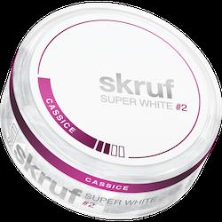 Skruf Super White Cassice Slim