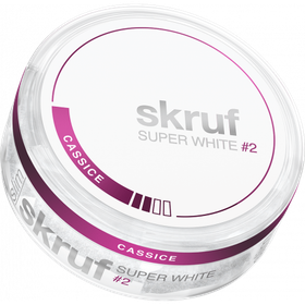 Skruf Super White Cassice Slim