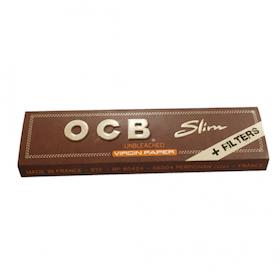 OCB Slim Brun med Filter