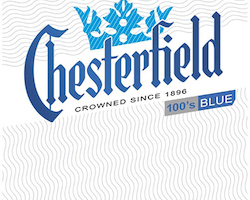 Chesterfield Blue 100s