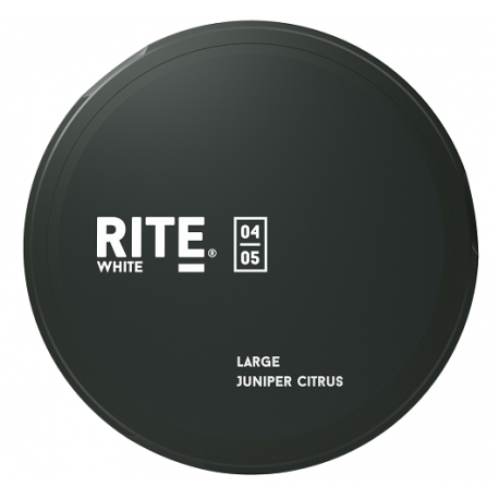 RITE Original white Portionsnus