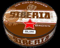 Siberia -80 Degrees Brown Slim Portionssnus