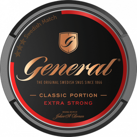 General Classic Extra Strong Portionssnus