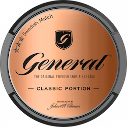General Classic Portionssnus