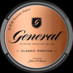 General Classic Portionssnus