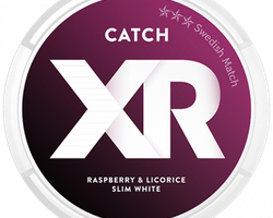 Catch XRange Hallon Lakrits White Portionssnus