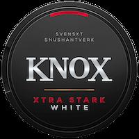 Knox Xtra Stark White Portionssnus