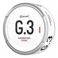 General G.3 Slim White Dry Strong