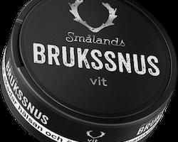 Smålands Brukssnus Vit Portion