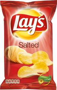 LAYS CHIPS SALTED 175G