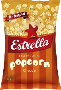 INDIAN POPCORN CHEDD 90G