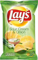 LAYS CHIPS SOUR&ONION175G