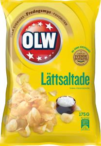 OLW LÄTTSALTADE 175G