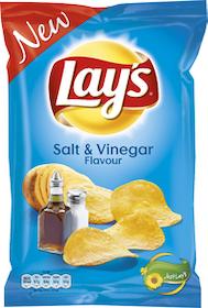 LAYS SALT&VINEGAR 175G