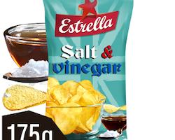 ESTRELLA Salt & Vinegar 175G