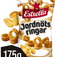 EST JORDNÖTSRINGAR 175G