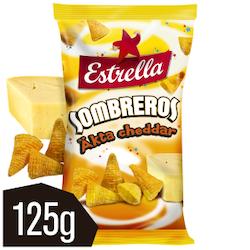 EST SOMBREROS CHEDDAR 125