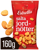 EST JORDNÖTTER SALTA 160G