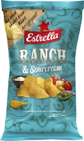 Ranch & Sourcream 175g