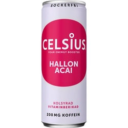 CELSIUS HALLON ACAI 355ML