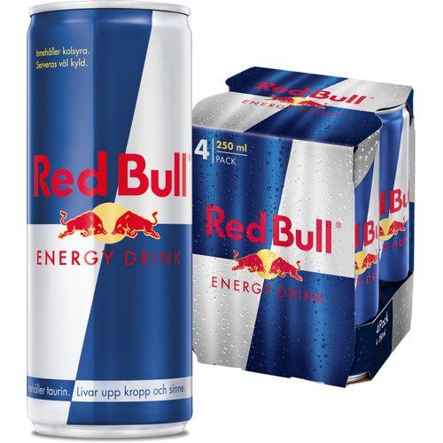 RED BULL ENERGY 25CL 4P