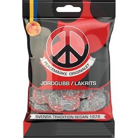 Peacemärke Jorgubb/Lakrits