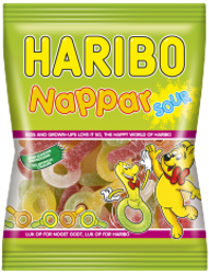 Haribo Nappar Sour 80g