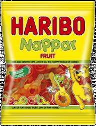 Haribo Nappar Frukt 80g