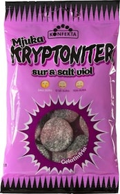 Kryptoniter Mjuka Viol 60g