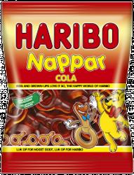 Haribo Nappar Cola 80g