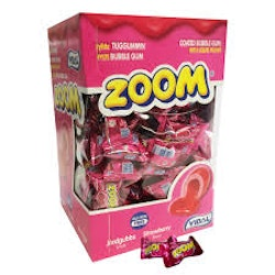 BBGUM Zoom Strawberry 5st