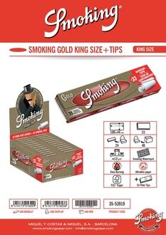 Smoking KS Gold +Tips