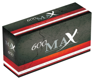 Max Filter Tubes 600-pack