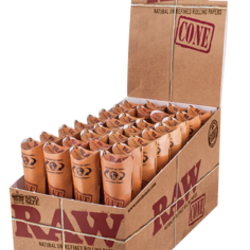 Raw Cones Classic Kingsize 3-pack 32-p