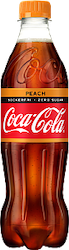 COCA-COLA ZERO PEACH 50CL