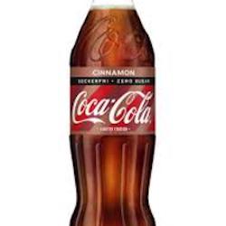 COCA-COLA ZERO CINNAMON50