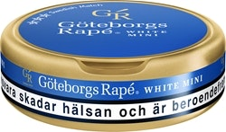 Göteborgs Rapé Mini White/10 g