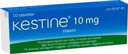 Kestine 10 mg, 10 st
