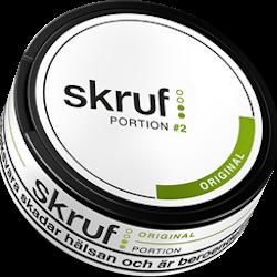 Skruf Original Portion 21,6g