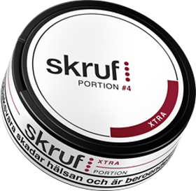 Skruf Xtra Stark Portion 21,6 g