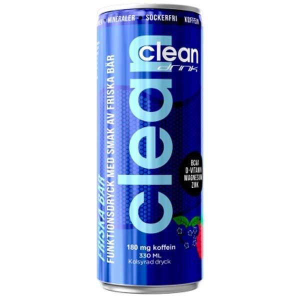 Clean Drink Friska bär 330ml