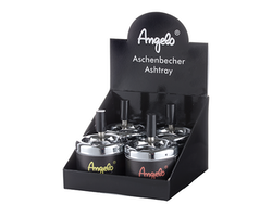 Angelo ashtray black 8cm